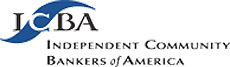 Logo for Independent Community Bankers of America