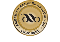 Gold seal indicating that ICS is endorsed by the American Bankers Association